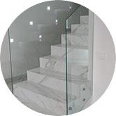 Стеклянные ограждения для лестниц, балконов, крыш